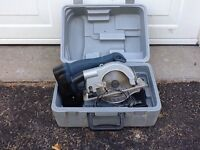 Palm sander and cordless circular saw. Joiner is sold