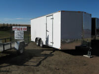 NEW 2015 CONTINENTAL CARGO TRAILER -18 FT plus V-NOSE