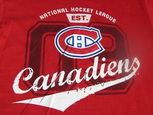 T-shirt neuf LES CANADIENS brand new t-shirt Med Large kids
