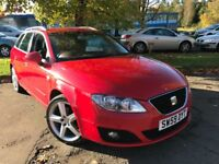 SEAT Exeo 2.0 CR SPORT ST 143PS (red) 2009
