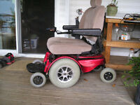 Jazzy 1170 power wheelchair 400 lbs capacity