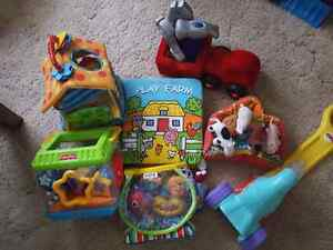 Baby and toddler toys $20 for all