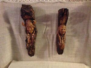 North American Native Ceramic Sculptures