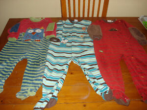 3 pyjamas Clément / Petit Lem 24 mois