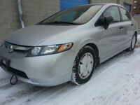 2009 HONDA CIVIC 4 DR 48,269 KM 1 OWNER SAFTIED VERY CLEAN
