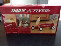 Brand New Radio Flyer Little Red Scoot-About