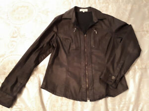 Womens zip jacket like shirt