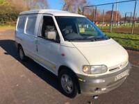 2000 Nissan vanette COMPLETE WITH M.O.T AND WARRANTY