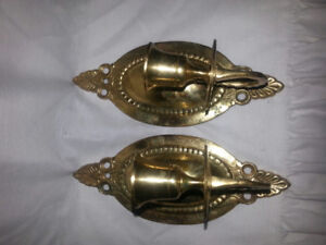 Candle holders wall Scones  India gold