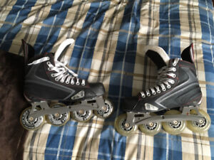 Barely used roller blades size 6