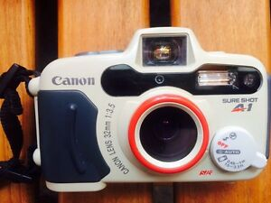 Canon Sure Shot A1 - waterproof 35mm film camera