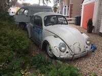 1971 Vw beetle bug slammed narrowed rat look 1300 1641 runner