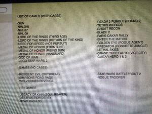 PS2 GAMES & PS1 GAMES