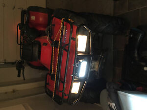 Honda 350 fourtrax with extras and papers