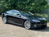 2014 14 TESLA MODEL S P85+ PERFORMANCE PLUS CVT RWD 5D 416 BHP