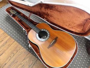 1974 Ovation Balladeer acoustic guitar