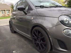 Pneus, TPMS & Mag / Roues 98mm 17 pouces Fiat 500, Turbo, ABARTH