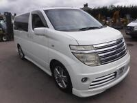 NISSAN ELGRAND 8 SEATER 3.5 FULLY LOADED, White, Auto, Petrol, 2004