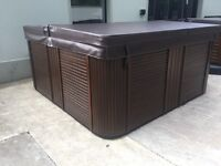 6 Seater Reconditioned Hot Tub