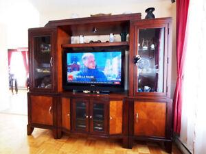 Wall unit, unité murale - Meuble télé - TV stand