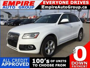 2015 AUDI Q5 2.0T KOMFORT * AWD * LEATHER * BLUETOOTH * SAT RADI