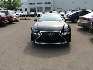 2015 Lexus RC 350 AWD F Sport, Premium, Luxury and Nav Packages!