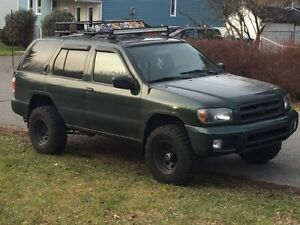 Manual pathfinder 3.5 lifted