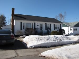 Beautiful Bungalow with detached Garage MONCTON HOSPITAL