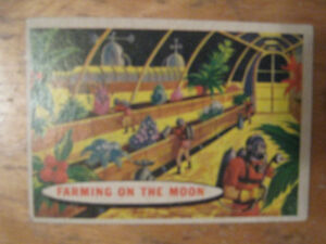 c1950's space cards