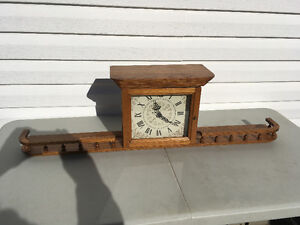Oak Wall Clock - Handmade in Lambton County