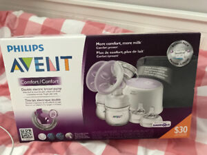 Avent electrict double breast pump. NEW!