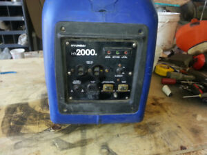 Gently used Hyundai HY2000si Generator for sale.