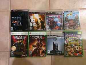 PS3 and Xbox360 games for sale