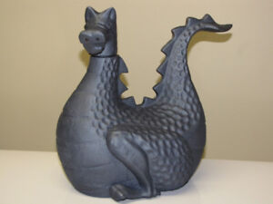 CAST IRON DRAGON (and Functional STEAM HUMIDIFIER)