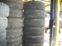 SET OF USED GOODYEAR TIRES P235/55R17
