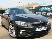 2015 BMW 4 SERIES 420D XDRIVE M SPORT 2DR COUPE AUTOMATIC 2.0 DIESEL COUPE DIESE