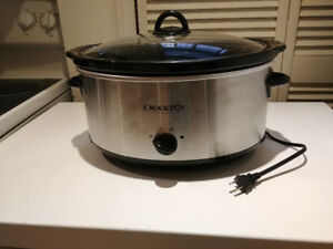 8 Quart Crock Pot Slow Cooker