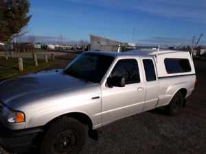 2010 Mazda B2300 Extended cab Plus Truck and canopy