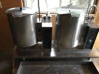 ***3-PHASE SOUP BOILERS & BUFFET COLD TABLE***