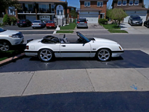 1986 FORD MUSTANG GT CONVERTIBLE 5.OL