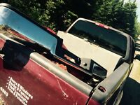 2008 Ford F-150 rear bumper passengers front door