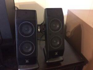 Logitech X-540 Speakers London Ontario image 4
