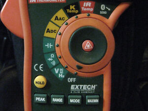 Extech EX845 1000A AC/DC True RMS Clamp/DMM with IR Thermometer Windsor Region Ontario image 5