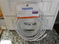 Phillips RG6 Coaxial Cable