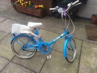 Vintage Raleigh 1980s females bike original