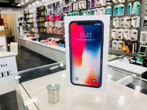 Brand new iPhone X 64gb Space Grey tax invoice Apple warranty