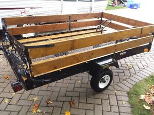 7.5 by 4.5 ft bike trailer / utility trailor London Ontario image 2