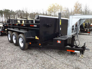 """Titan"" 10 Ton Heavy Duty Dump Trailer"