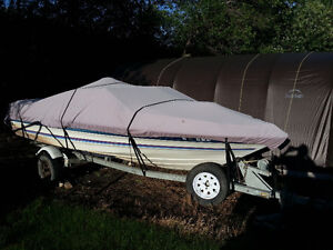 For sale a 1987 Bayliner boat and motor.