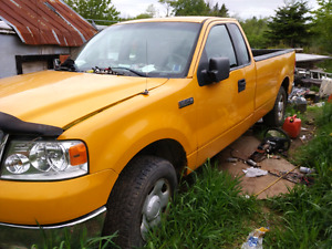 2007 f150 4.6 automatic reg cab with 1/4 door